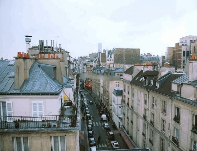 View from St. Germain-des-Prés Rue Jacob, 3 bedroom apartment